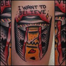 X Files Tattoo 11
