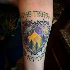 X Files Tattoo 12