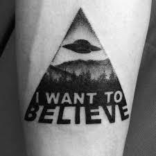 X Files Tattoo 15