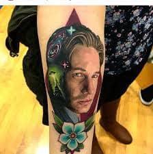 X Files Tattoo 18