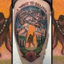 X Files Tattoo 19