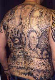 X Files Tattoo 2