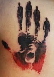 X Files Tattoo 24
