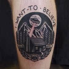 X Files Tattoo 29