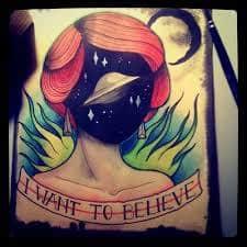 X Files Tattoo 37