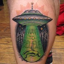 X Files Tattoo 40