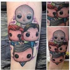 X Files Tattoo 42
