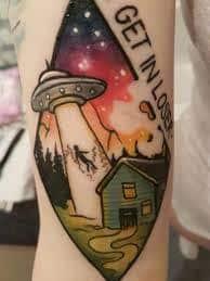 X Files Tattoo 47