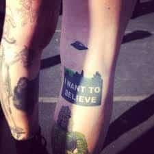 X Files Tattoo 48