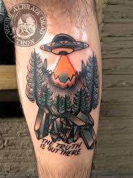 X Files Tattoo 49