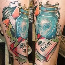 X Files Tattoo 50