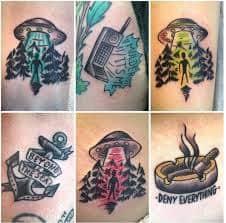 X Files Tattoo 53