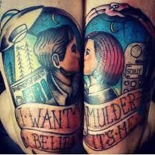 X Files Tattoo 9