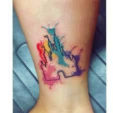 disney castle tattoo 19