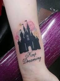 disney castle tattoo 21