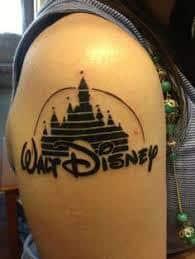 disney castle tattoo 30