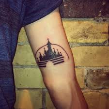 disney castle tattoo 4