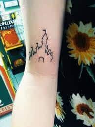 disney castle tattoo 40