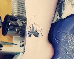 disney castle tattoo 45