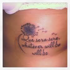 que sera sera tattoo 23