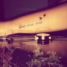que sera sera tattoo 43