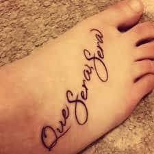 que sera sera tattoo 44
