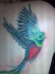quetzal tattoo 3