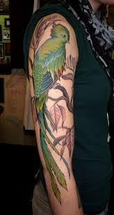 quetzal tattoo 35