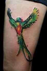 quetzal tattoo 38