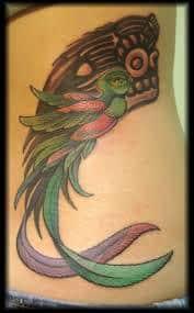quetzal tattoo 4