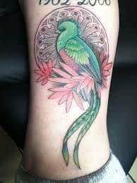 quetzal tattoo 40