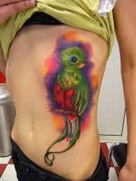 quetzal tattoo 42