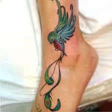 quetzal tattoo 45