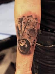 8 Ball Tattoo Meaning 1