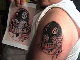 8 Ball Tattoo Meaning 18