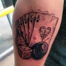8 Ball Tattoo Meaning 25