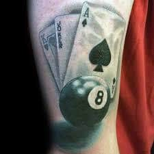 8 Ball Tattoo Meaning 6
