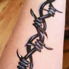 Barbed Wire Tattoo Meaning 24