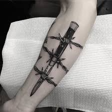 Barbed Wire Tattoo Meaning 6