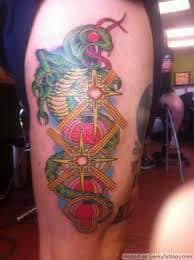 Centipede Tattoo 32
