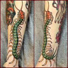 Centipede Tattoo 35
