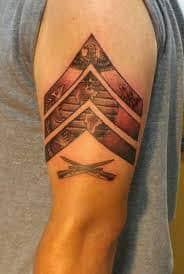 Chevron Tattoo Meaning 20