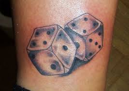 Dice Tattoo Meaning 1