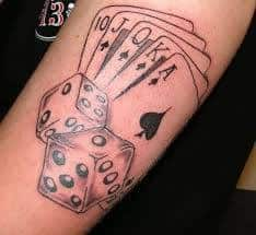 Dice Tattoo Meaning 11