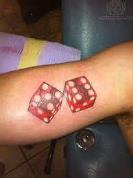 Dice Tattoo Meaning 14