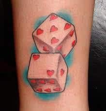 Dice Tattoo Meaning 21