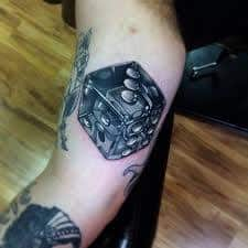 Dice Tattoo Meaning 22