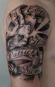 Dice Tattoo Meaning 23