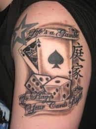 Dice Tattoo Meaning 32