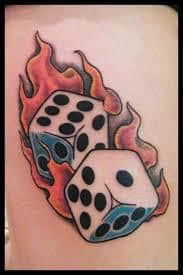 Dice Tattoo Meaning 36